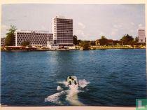 Marina form the lagoon