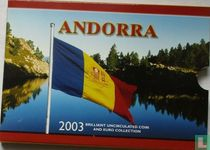 Andorra combinatie set 2003