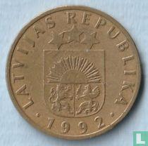 Letland 10 santimu 1992