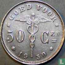 België 50 centimes 1930 (NLD)