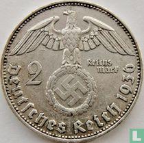 Duitse Rijk 2 reichsmark 1936 (E)