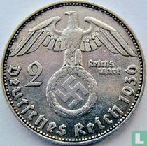 Duitse Rijk 2 reichsmark 1936 (J)