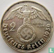 Duitse Rijk 2 reichsmark 1936 (G)