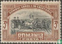 Aankomst van Carol I in Roemenië (1866)