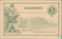 Briefkaart Koning Oskar II