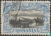 Bij het oversteken van de Donau (1877)
