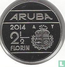 Aruba 2½ florin 2014