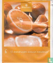 6 Tè aromatizzato arancia mandarino