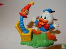 """Donald Duck-baby met""""jack-in-the-box"""""""