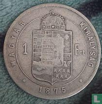 Hongarije 1 forint 1875
