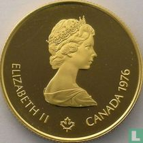 """Canada 100 dollars 1976 (PROOF) """"Summer Olympics in Montreal"""""""