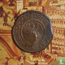 "Deventer ½ stuivers 1578 ""noodmunt"""