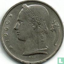 België 5 francs 1960