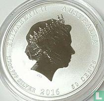 "Australië 50 cents 2016 (gekleurd) ""Year of the Monkey"""