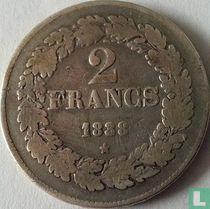 België 2 francs 1838