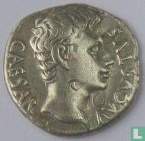 Romeinse Rijk, Denarius AR, 19 BC, Augustus