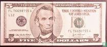 5 dollars 2003 A