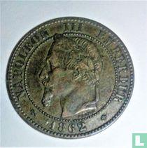 Frankrijk 1 centime 1862 (BB)