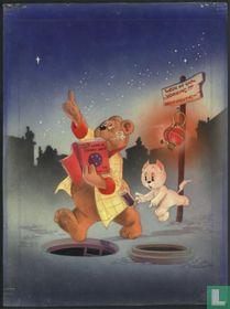 Original cover Tom Poes Weekblad