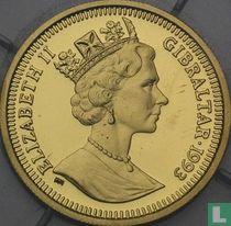Gibraltar 70 ecus / 50 pounds 1993 (PROOF)