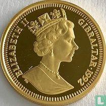 Gibraltar 70 ecus / 50 pounds 1992 (PROOF - met PM)