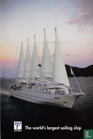 """00131 - Club Med """"The world's largest sailing ship"""""""
