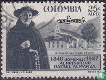 Pater Almanza met opdruk Unificado