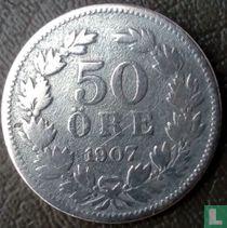 Schweden 50 Öre 1907