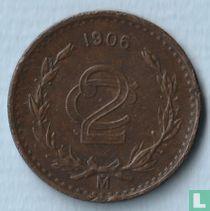 Mexico 2 centavos 1906