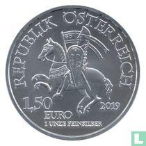 "Austria 1½ euro 2019 ""825th Anniversary of the Vienna Mint - Leopold V"""