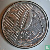 Brazilië 50 centavos 2016