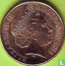 "Australië 1 dollar 2014 ""100 years ANZAC"""