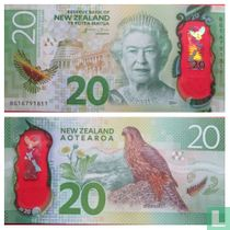 Nieuw-Zeeland 20 Dollars polymer
