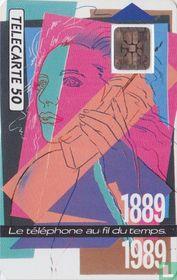 1889-1989 Téléphone au fil du temps
