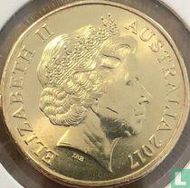 "Australië 1 dollar 2017 ""100 years ANZAC"""