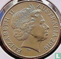 "Australië 1 dollar 2016 ""100 years ANZAC"""