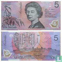 Australië 5 Dollars 2008