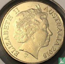 "Australië 1 dollar 2018 ""100 years ANZAC"""