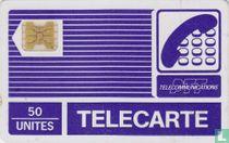 Telecarte 50 unités