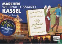 Märchen Weihnachtsmarkt Kassel 2011 - Die goldene Gans