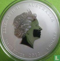 "Australië 1 dollar 2012 (met privy merk) ""Year of the Dragon"""