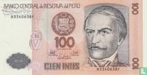 Peru 100 Intis