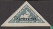 Zuid-Afrikaanse zegels met opdruk
