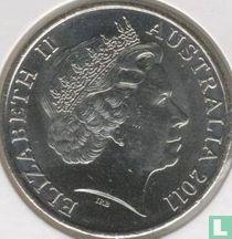 "Australia 20 cents 2011 ""Wedding of Prince William and Catherine Middleton"""