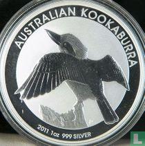 "Australië 1 dollar 2011 ""Kookaburra"""