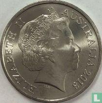Australië 10 cents 2018
