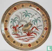 Bord Padang 23,4 cm - Decor Panama - Petrus Regout & Co