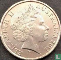 Australië 10 cents 2011