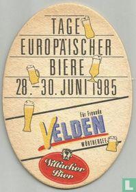 Tage Europäischer biere