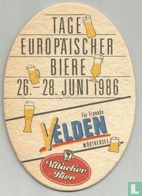 Tage Europïscher biere